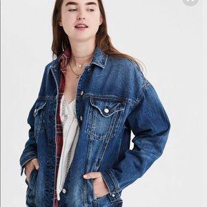 New American Eagle Boyfriend Fit Denim jacket